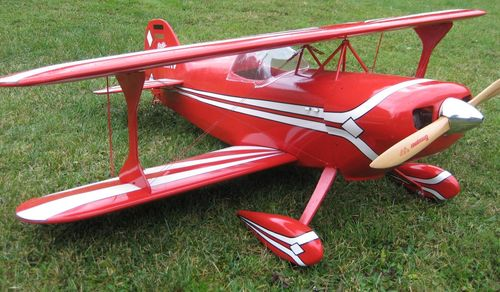 Pitts Special S1-S  180 Spw Voll GFK in Wabenbauweise